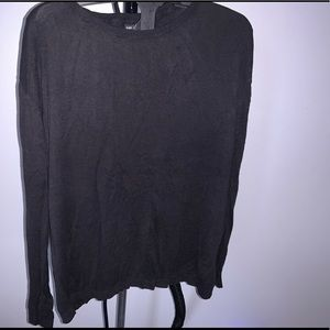 H&M Black Light  Knit Top (M)